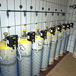 Gasbehältnisse
